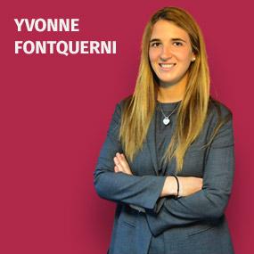 Yvonne Fontquerni es abogada por ESADE y estudiante del Máster de Acceso a la Procura.